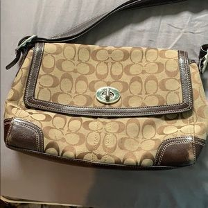 Coach medium sized purse